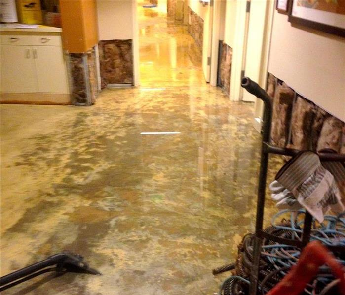 Sewage Leaves Local Association Waterlogged  Before
