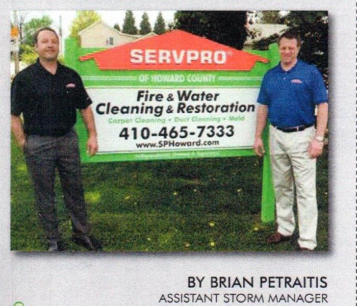 Storm Spotlight SERVPRO of Howard County (MD)
