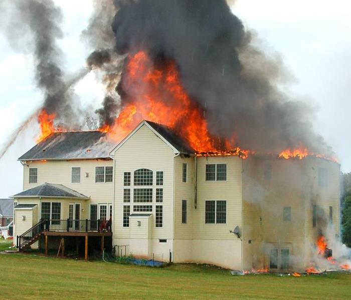 Fire Damage October is Fire Prevention Month-10 Home Fire Safety Tips from SERVPRO of Howard County
