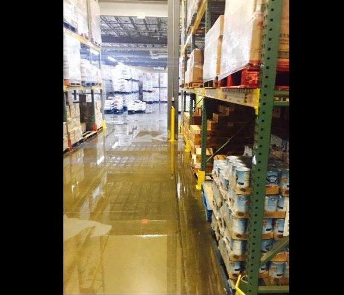 Commercial Flooded Warehouse in Hanover